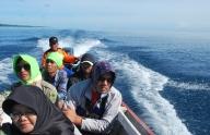 Suasana di atas kapal