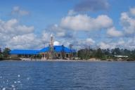 View Masjid dari laut